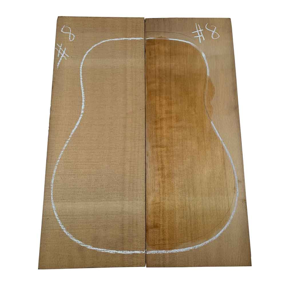 Sitka Spruce Dreadnought Guitar Tops #08 With Free Shipping - Exotic Wood Zone