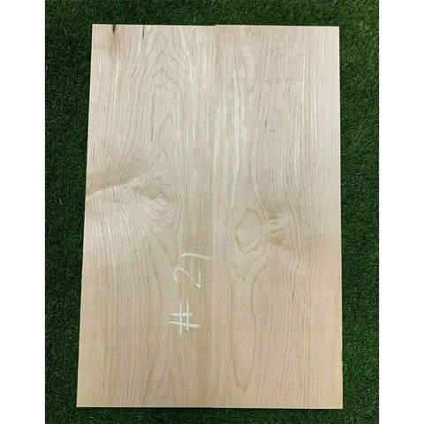 "Hard Maple Guitar Body Blanks - 2 Pieces Glued, 21"" x 14"" x 2"" - Exotic Wood Zone"