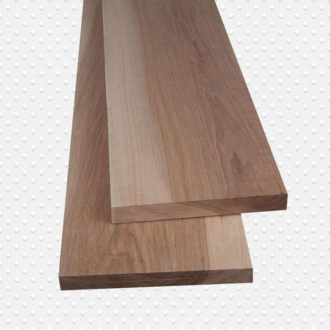 American Hardwood 4/4 Hickory Lumber, Packs Measuring 10 to 500 Board, Ft. - Exotic Wood Zone