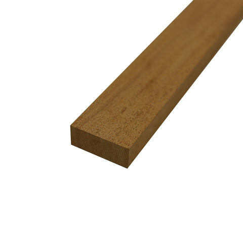 "Honduran Mahogany Lumber Board - 3/4"" x 2"" (4 Pieces) - Exotic Wood Zone"