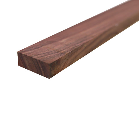 "Indian Rosewood Lumber Board - 3/4"" x 2"" (4 Pieces) - Exotic Wood Zone"