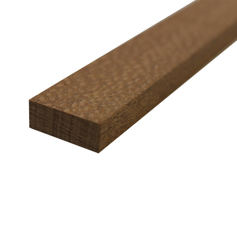 "Leopardwood Lumber Board - 3/4"" x 2"" (4 Pieces) - Exotic Wood Zone"