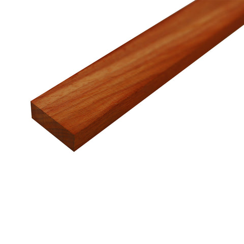 "Padauk Lumber Board - 3/4"" x 2"" (4 Pieces) - Exotic Wood Zone"