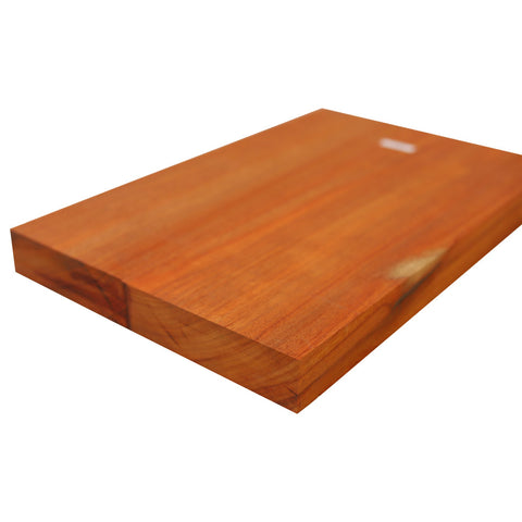 "Padauk Explorer Guitar Body Blanks- 2 Pieces Glued, 28"" x 18"" x 2"" - Exotic Wood Zone"