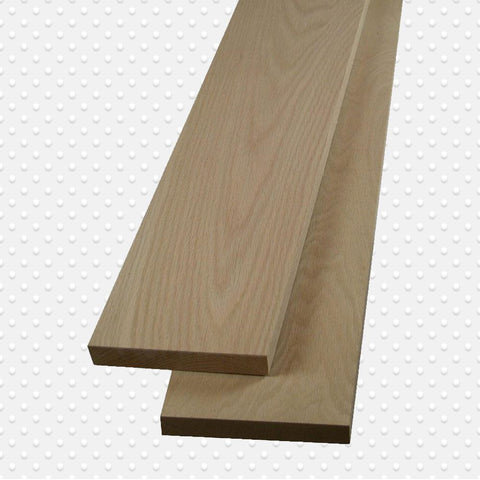American Hardwood 4/4 Red Oak Lumber, Packs Measuring 10 to 500 Board. Ft. - Exotic Wood Zone