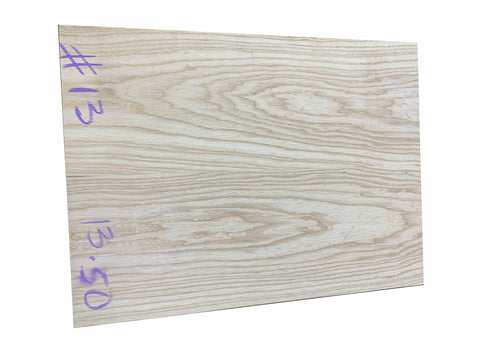 Swamp Ash Guitar Body Blanks- 2 Piece Joined - Exotic Wood Zone