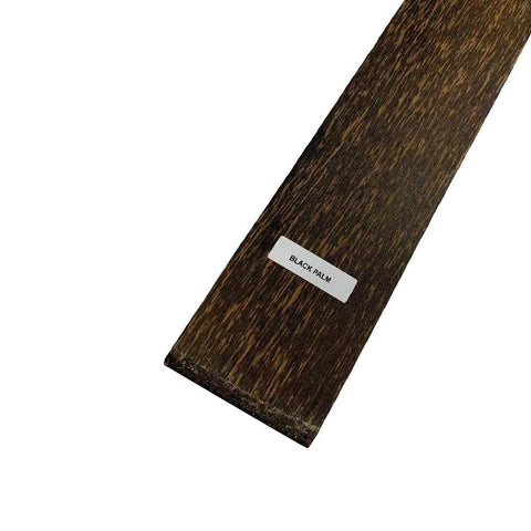 Black Palm Thin Stock Lumber Boards Wood Crafts - Exotic Wood Zone