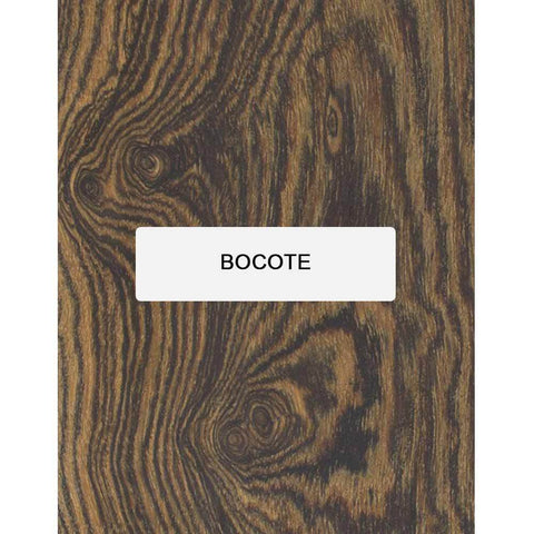 Bocote Thin Stock Lumber Boards Wood Crafts - Exotic Wood Zone