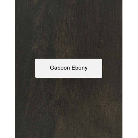 Gaboon Ebony Thin Stock Lumber Boards Wood Crafts - Exotic Wood Zone