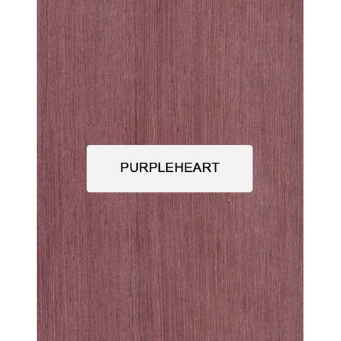 Purpleheart Guitar Bridge Blanks - Exotic Wood Zone