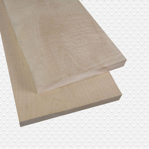 American Hardwood 5/4 Tigerstripe Soft Maple, Lumber, Packs Measuring 10-500 Board. Ft. - Exotic Wood Zone