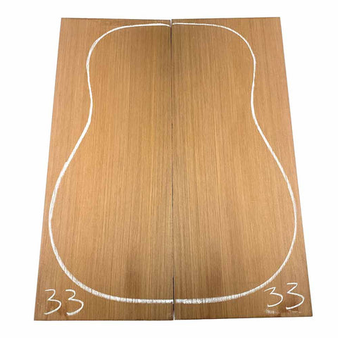 Western Red Cedar Dreadnought/Steel String Guitar Tops #33 With Free Shipping - Exotic Wood Zone