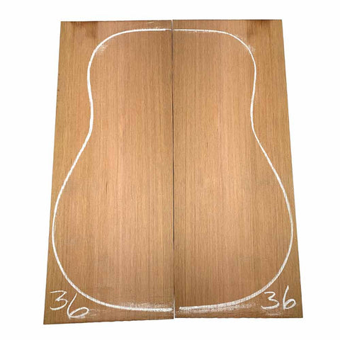 Western Red Cedar Dreadnought/Steel String Guitar Tops #36 With Free Shipping - Exotic Wood Zone