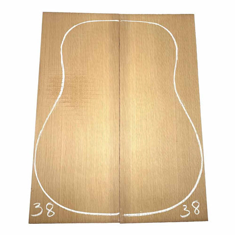 Western Red Cedar Dreadnought/Steel String Guitar Tops #38 With Free Shipping - Exotic Wood Zone