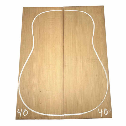 Western Red Cedar Dreadnought/Steel String Guitar Tops #40 With Free Shipping - Exotic Wood Zone