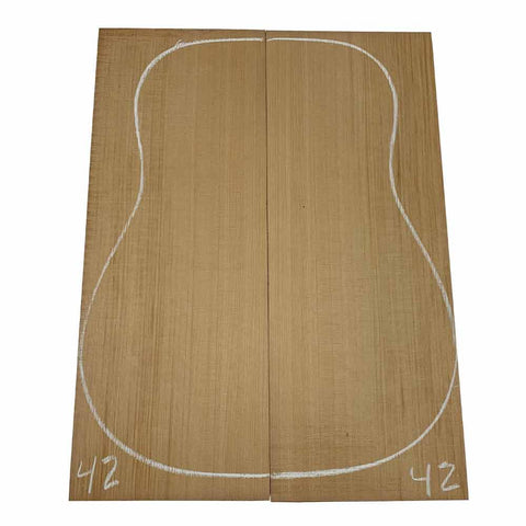 Western Red Cedar Dreadnought/Steel String Guitar Tops #42 With Free Shipping - Exotic Wood Zone