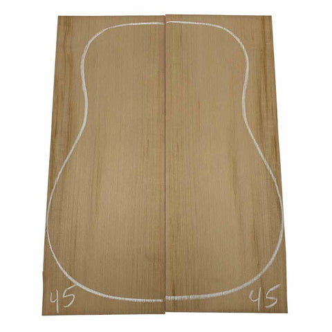 Western Red Cedar Dreadnought/Steel String Guitar Tops #45 With Free Shipping - Exotic Wood Zone