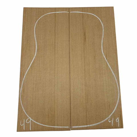 Western Red Cedar Dreadnought/Steel String Guitar Tops #49 With Free Shipping - Exotic Wood Zone