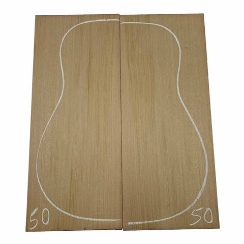 Western Red Cedar Dreadnought/Steel String Guitar Tops #50 With Free Shipping - Exotic Wood Zone