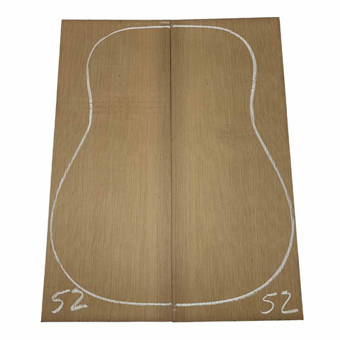 Western Red Cedar Dreadnought/Steel String Guitar Tops #52 With Free Shipping - Exotic Wood Zone