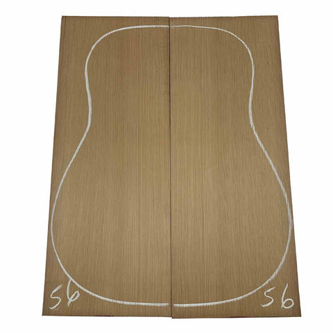 Western Red Cedar Dreadnought/Steel String Guitar Tops #56 With Free Shipping - Exotic Wood Zone