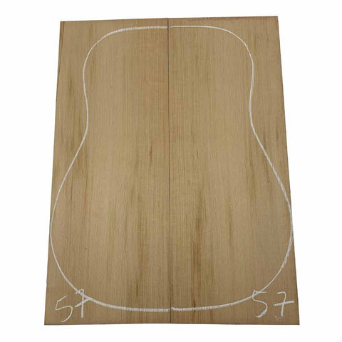 Western Red Cedar Dreadnought/Steel String Guitar Tops #57 With Free Shipping - Exotic Wood Zone