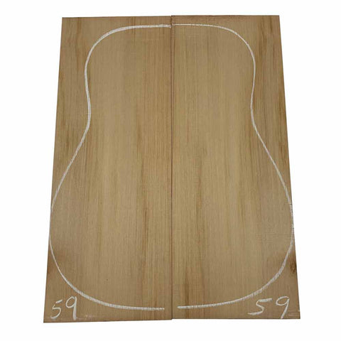 Western Red Cedar Dreadnought/Steel String Guitar Tops #59 With Free Shipping - Exotic Wood Zone