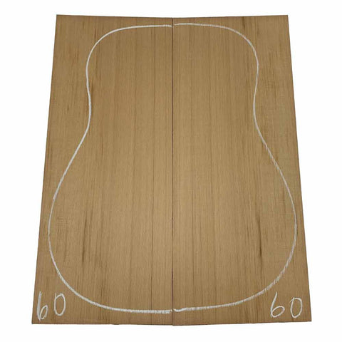 Western Red Cedar Dreadnought/Steel String Guitar Tops #60 With Free Shipping - Exotic Wood Zone