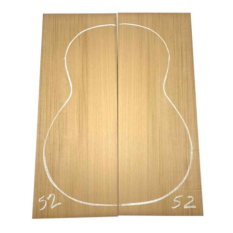 Western Red Cedar Classical/OM Guitar Tops #52 With Free Shipping - Exotic Wood Zone