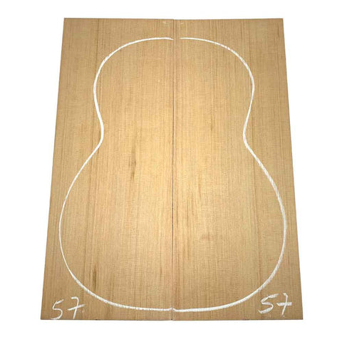 Western Red Cedar Classical/OM Guitar Tops #57 With Free Shipping - Exotic Wood Zone