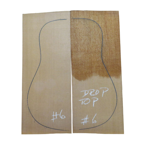Western Red Cedar Steel String Guitar Tops #06 With Free Shipping - Exotic Wood Zone