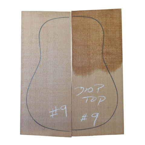 Western Red Cedar Steel String Guitar Tops #09 With Free Shipping - Exotic Wood Zone