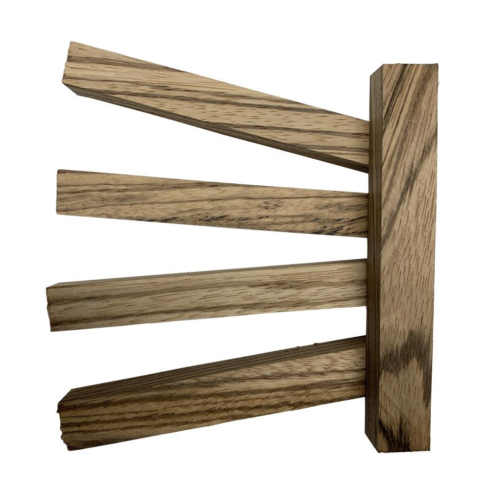 Wood Pen Blanks - Zebra Wood Pen Blanks With Free Shipping