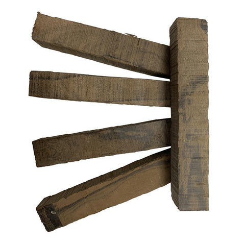 "Ziricote Wood Pen Blanks 3/4"" x 3/4"" x 5"" - Exotic Wood Zone"