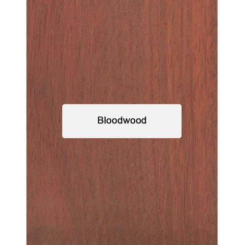 Bloodwood Guitar Fingerboard Blank - Exotic Wood Zone