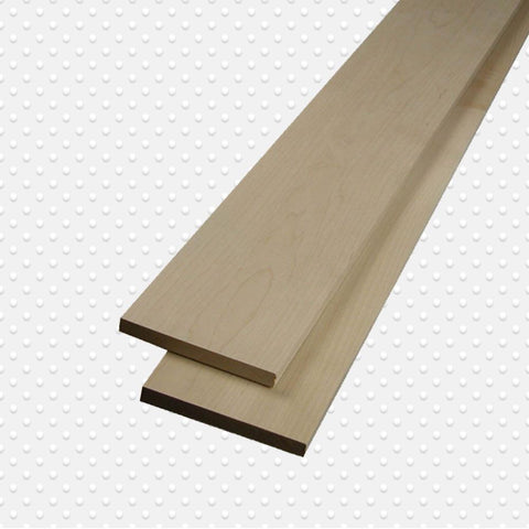 American Hardwood 4/4 Hard Maple Lumber, Packs Measuring 10 Board. Ft. - Exotic Wood Zone