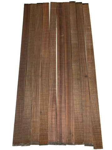 Indian Rosewood Natural Wood Bindings, Strips For Guitars - 10 Pieces Lots - Exotic Wood Zone - Buy online Across USA