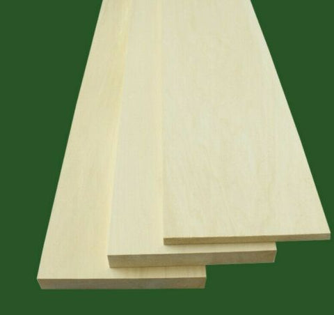 Basswood Thin Stock Lumber Boards Wood Crafts