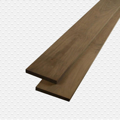 American Hardwood 4/4 Black Walnut Lumbers, Packs Measuring 10 to 100 Bd. ft. - Exotic Wood Zone