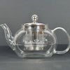 CLASSIC OVAL TEA POT WITH STEEL INFUSER