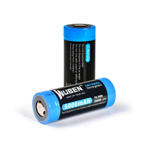 ABT5000C 26650 5000mAh rechargeable Protected lithium battery