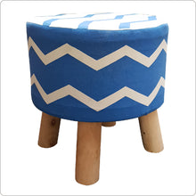 Load image into Gallery viewer, Foot Stool home décor round pouf ottoman