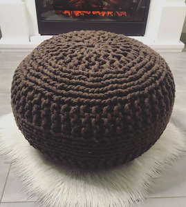 Chocolate Dori Pouf