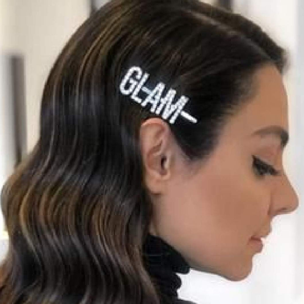 GLAM GOALS DRIPPIN RHINESTONE HAIR ACCESSORIES