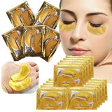 CRYSTAL COLLAGEN GOLD EYE MASKS