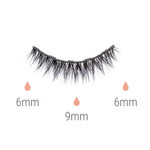 Shortie magnetic lash kit
