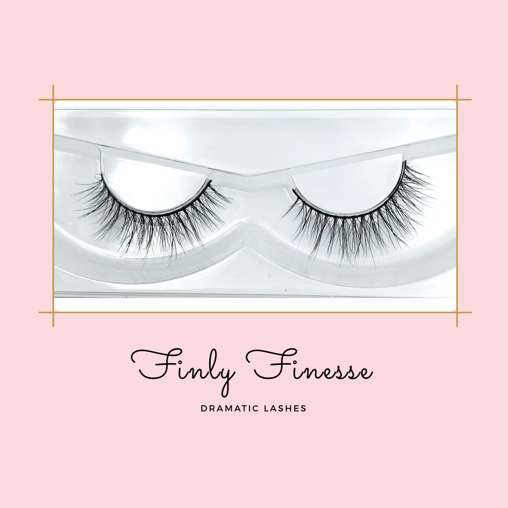 Finly Finesse 3d mink lash