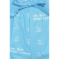 Pack of 2 : Printed Women's Shorts (Coffee Print) - The Cotton Company - Women - Shorts