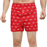 Pack of 3 : Printed Men's Boxer Shorts - TCC - The Cotton Company