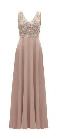 Chiffon Diamante Maxi Dress